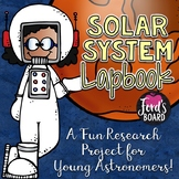 Solar System Lapbook and Interactive Notebook Activities
