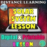 Solar System Lesson- PRINTABLE and DIGITAL Astronomy Interactive Notebook