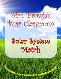 Solar System Match