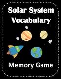 Solar System Match Game