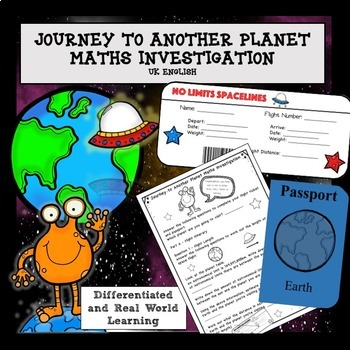 Solar System Space Maths and Science Project NO PREP AUS UK