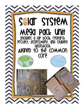 Solar System Mega Pack Unit aligned to the Common Core