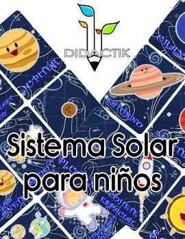 Solar System Memory English/Spanish
