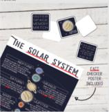 Solar System Memory Match Game