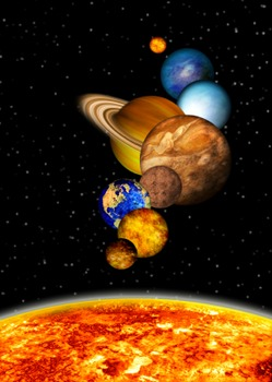 Solar System Middle/High School Lesson Plan
