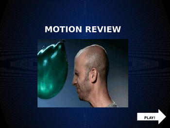 MOTION PowerPoint Game!