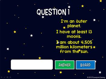 Solar System Mini Game