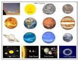 Solar System : Mini Matching Cards