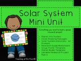 Solar System Mini Unit