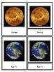 Solar System Montessori Nomenclature (3 Piece) Cards