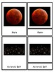 Solar System Montessori Nomenclature (3 Piece) Cards