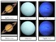 Solar System: Printable Montessori Three Part Cards IN SPANISH