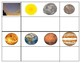 Solar System:Three Part Cards, Mini Matching, count &clip,numbers & Black-lines