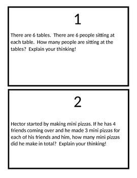 Solar System Multiplication Problem Solving (Question Set C)