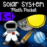 Solar System No Prep Math Packet