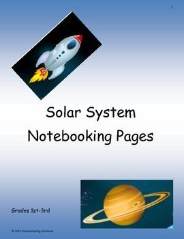Solar System Notebooking