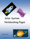 Solar System Notebooking Sample