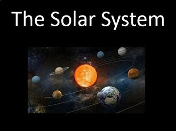 Solar System Notes Bundle