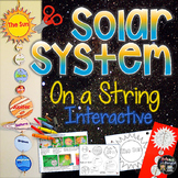 Solar System Create, Facts, and Fill Ins on a String Inter