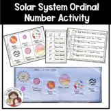 Solar System Ordinal Numbers Activity