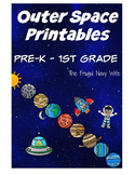 Solar System - Outer Space Unit - Science, Math & Literacy Fun