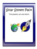 Solar System Pack (Planets, Sun, Moon)
