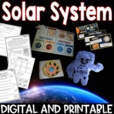 Solar System Pack Interactive Notebook, Printables, Editable PowerPoint