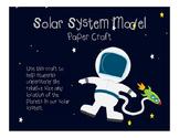 Solar System Paper Craft