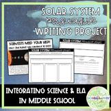 Solar System Persuasive Project **Common Core Aligned**