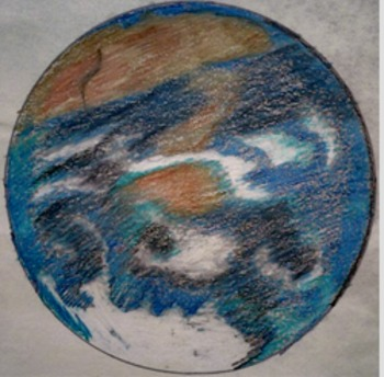 Solar System Planet Drawings