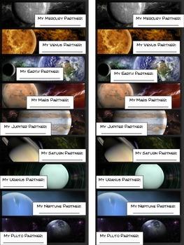 Solar System Planet Partners