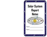 Solar System Planet Report