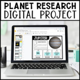 Solar System Planet Research Project   For GOOGLE Slides  