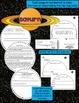 SOLAR SYSTEM: PLANET SHAPED FLIP BOOK  {SATURN}