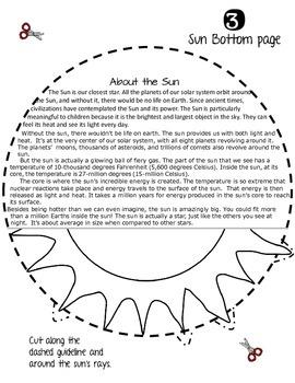 SOLAR SYSTEM: PLANET SHAPED FLIP BOOK {THE SUN}