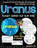 SOLAR SYSTEM: PLANET SHAPED FLIP BOOK  {URANUS}