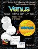 SOLAR SYSTEM: PLANET SHAPED FLIP BOOK  {VENUS}