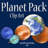Solar System Planet Space Clip Art