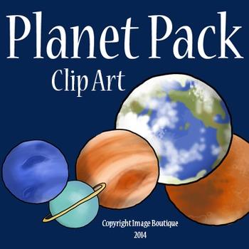 Solar System Planet Space Clip Art
