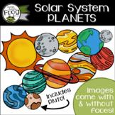 Solar System Planets Clip Art