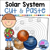 Solar System: Planets Cut and Paste