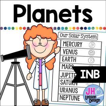 Solar System: Planets Interactive Notebook Activity