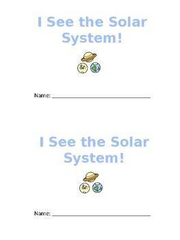 Solar System/ Planets I See Emergent Reader