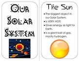 Solar System Planets Mini Book nonfiction information, visuals & review
