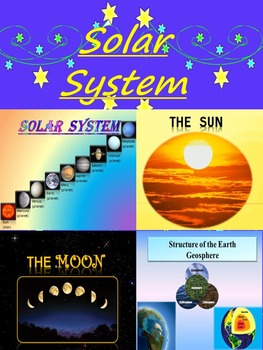 Solar System Planets - BUNDLE - Space - The Sun - The Moon