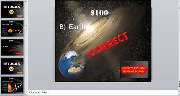Solar System Planets Trivia Game:  Fun Stuff!