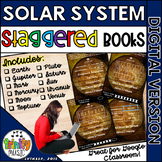 Solar System (Planets) for Science Staggered Booklets (DIGITAL VERSION)