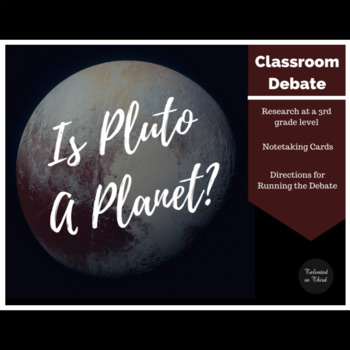 Solar System - Pluto Debate - Elementary Science (Space)