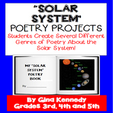 "Solar System 'Poetry"" Writing Projects"