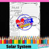 Solar System Activity Poster